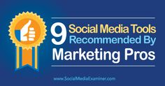 9 Social Media Tools Recommended by Marketing Pros—BoardBooster; Rival IQ; Revive Old Post; Google Photos; Periscope; Contextly; Zopim; Pablo 2.0; Blab; Details>