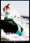 Siren Silhouette by ~TheRealLittleMermaid