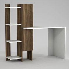 White Desks You'll Love   Wayfair.co.uk Ladder Desk, L Shaped Desk, White Desks, Writing Desk, Office Furniture, Shelves, The Originals, Inspiration, Home Decor