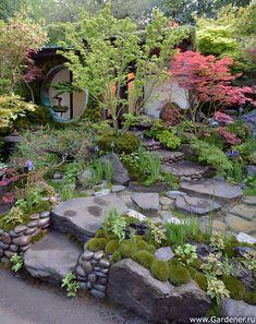 Edo no NiwaEdoGarten von Ishihara Kazuyuki Design Laboratory Chelsea Flower Small Japanese Garden, Japanese Garden Design, Chinese Garden, Landscaping With Rocks, Backyard Landscaping, Landscaping Ideas, Chelsea Flower Show 2018, Japan Garden, Garden Cottage