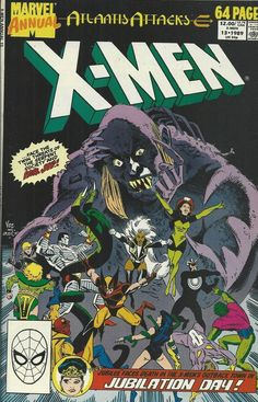 Marvel X-Men Annual comic issue 13