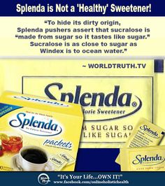 splenda isnt so splendid essay Splenda is not heat stable splenda is not so splendid after all — no comments leave a reply cancel reply you must be logged in to post a comment.