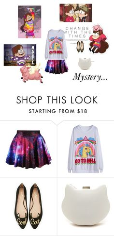 """""""Gravity Falls"""" by fuffa ❤ liked on Polyvore featuring Disney, Kate Spade and MABEL"""