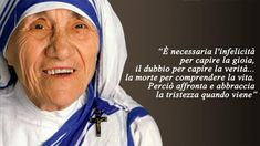 Madre Teresa di Calcutta: gli aforismi Pope John Paul Ii, Calcutta, Santa Teresa, Chris Young, Faith In Love, Mother Teresa, Women In History, Famous Women, Faith Quotes