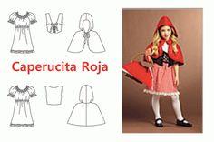 Como hacer la Capa y el disfraz de Caperucita roja | Trato o truco