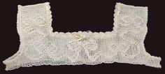 Vintage Hand Crochet Yoke for Child's Crochet Yoke, Filet Crochet, Hand Crochet, Ribbon Design, Crochet For Kids, Night Gown, Etsy, Children, Threading