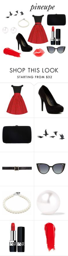"""""""pineupe"""" by shaouini ❤ liked on Polyvore featuring Michael Antonio, Sergio Rossi, Jayson Home, Maison Margiela, Fendi, Sophie Bille Brahe, Christian Dior, NARS Cosmetics and NYX"""