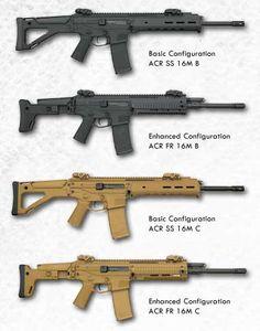 Bushmaster ACR press release with pricing Airsoft Guns, Weapons Guns, Guns And Ammo, Tactical Rifles, Firearms, Battle Rifle, Military Guns, Hunting Rifles, Cool Guns