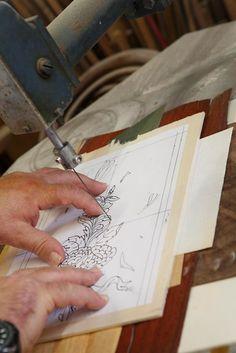 Decorazione su legno, intarsio, intaglio, mobili e arredi in stile - Paolo Binni.