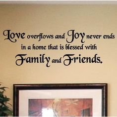 Decals Vinyl Wall Lettering Home Decor Quotes Sayings | eBay