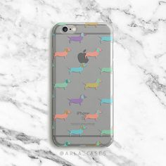 Pastel Dog Phone Case Dachshund Clear iPhone by ArlaLaserWorks Country Phone Cases, Cell Phone Cases, Iphone Cases, Dog Phone, Free Hugs, Funny Pictures, Funny Pics, Phone Accessories, Animals And Pets