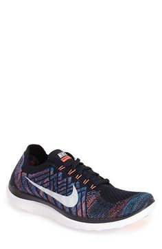 Nike 'Free Flyknit 4.0' Running Shoe (Men) available at #Nordstrom