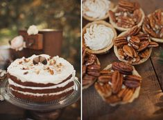 mini pies and desserts