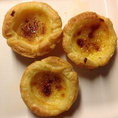 Portugiesische Vanilletörtchen