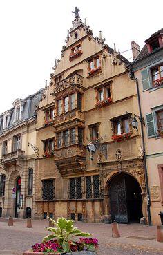 La Maison des Têtes,Colmar
