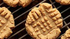 Four-Ingredient Flourless Peanut Butter Cookies