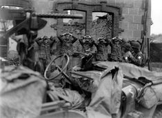 German prisoners of war 1944 France 4th Armored Division