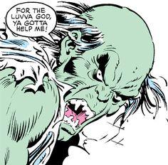 Max Hammer Stryker (Hulk enemy) (Marvel Comics) gamma mutate face