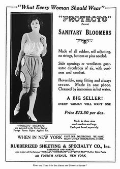 "The next time you catch an ad for a tampon or pad, as silly as they can be, you should count your lucky stars. We've only been able to see advertisements for sanitary products for less than a century, due to concerns about ""public decency."" (Presumab"