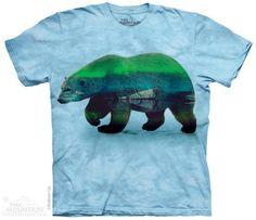 AURORA POLAR BEAR T-SHIRT BY THE MOUNTAIN®
