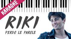 Riccardo Marcuzzo   Perdo Le Parole   AMICI 16   Piano Karaoke con Testo