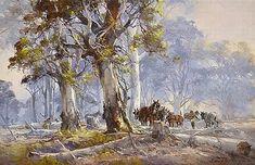 Doyle - Page 5 - Australian Art Auction Records Australian Painting, Australian Artists, Cartoon Drawings, Art Drawings, Australia Landscape, Environment Concept Art, Art Auction, Art Market, Artist Art