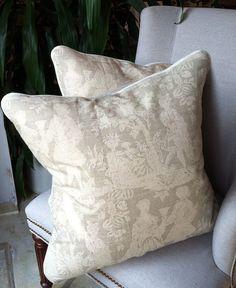 One pair of cushy pillows in Hodsoll McKenzie