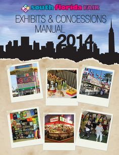 Have a product or service, or a food concession? The 2014 South Florida Fair Exhibits & Concessions Application is online! Be a part of it!
