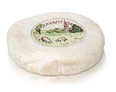 Gravanzina - Queso de Vaca  Oveja pasteurizada Elaborado por Caseificio Dell Alta Langa , Italia