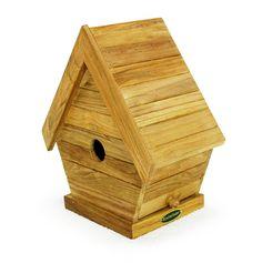 teak bird house from Westminster Teak Furniture