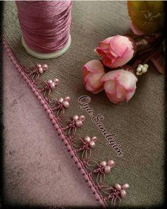 34 Legend Floral Beaded Pattern of Crochet Lace – # beaded # Floral # legend … - Stickerei Ideen Slip Stitch Crochet, Crochet Lace Edging, Crochet Motifs, Crochet Collar, Irish Crochet, Crochet Flowers, Crochet Stitches, Modern Crochet Patterns, Baby Knitting Patterns