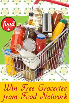 Win Free Groceries from Food Network