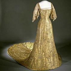 Queen Maud of Norway Coronation dress 1906