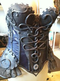 CoastConFan Blog: Armor Steampunk Style – a short history of body armor from the Victorian Era to the middle 20th century
