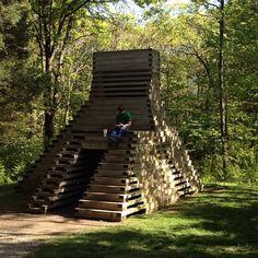 Laumeier Sculpture Park in St Louis, MO