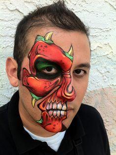 Red Face by RonnieMena.deviantart.com on @deviantART