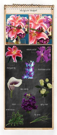 Stargazer bouquet recipe