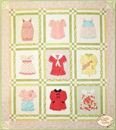 Betsy's Closet Quilt Pattern by Acorn Quilt & Co.