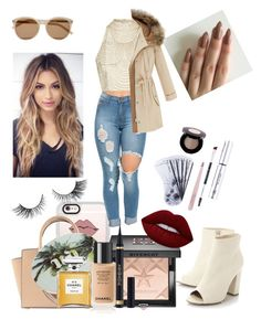 """""""Era istrefi inspired"""" by jaydapolise on Polyvore featuring Casetify, Topshop, Michael Kors, Yves Saint Laurent, Givenchy, Anastasia, Urban Decay, Chanel and Lime Crime"""