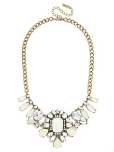 Opal Windsor Necklace Necklace | BaubleBar - perfect to compliment a NYE outfit.  #celebrate #statementnecklace #reviewaustralia