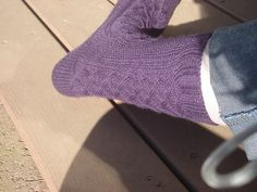 Ravelry: Cable and Seed Socks pattern by Tina Lips