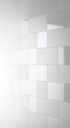 Design Trends: 4 Ways to Mix Gloss and Matte Tile White Bathroom Tiles, Bathroom Flooring, Modern Bathroom, Small Bathroom, White Tiles, Bathroom Wall, Bathroom Remodeling, Kitchen Backsplash, Master Bathroom