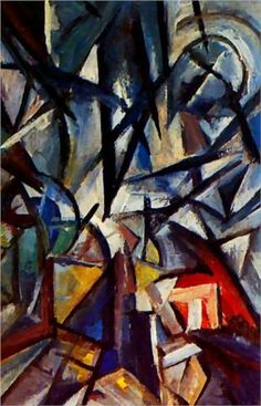 Disjunction of forms, Oil On Canvas. Olga Vladimirovna Rozanova was a Russian avant-garde artist in the styles of Suprematist, Neo-Primitivist, and Cubo-Futurist. Russian Art, Illustrations, Art Reproductions, Canvas Art Prints, Picasso, Art Pieces, Abstract Art, Art Gallery, Urban