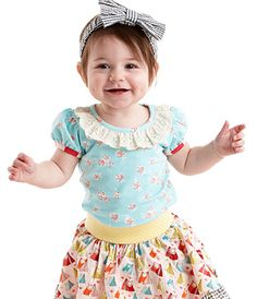 MJ Matilda Jane It's a Wonderful Parade collection - Posey Tee $24 LOVE, LOVE, LOVE it!