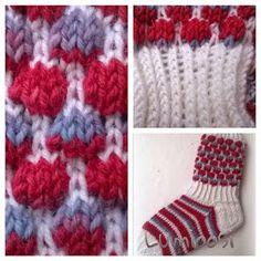 Lumioosi: Kuplasukka Knit Leg Warmers, Knitting Socks, Knit Socks, Sock Shoes, Picsart, Blanket, Crochet, Slippers, Fashion