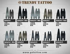 18 Best TRENDY TATTOO SUPPLY CATALOG images in 2013   Brochures ...