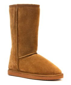 Loving this Wheat Whistler Tall Suede Boot on #zulily! #zulilyfinds