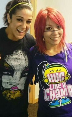 Bayley & Asuka