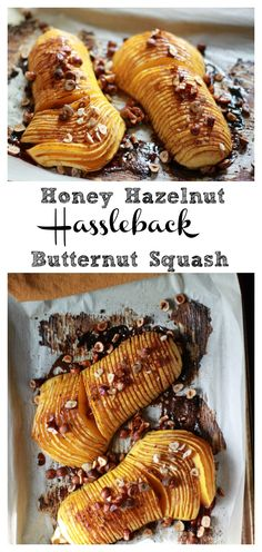 Just in time for the Holidays! This Honey Hazelnut Hassleback Butternut Squash makes the perfect side dish to any Holiday Meal! Or for the plant based friends, a main event! Paleo, Refined Sugar Free & Dairy Free!