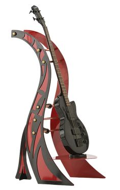 Rhapsody Red Guitar Stand